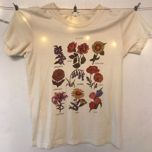 Urban Outfitters- Flower Tee